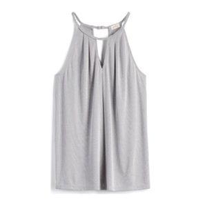 Pixley • Georgio Braided Neckline Halter Knit Top